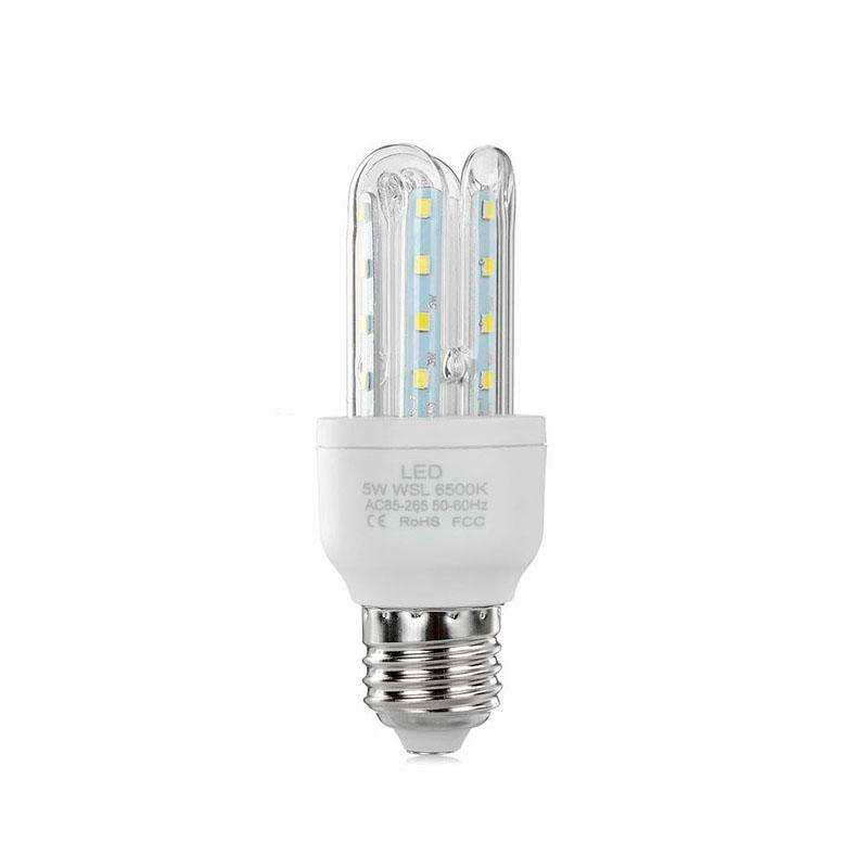 Bombilla Corn E27 SMD2835 LED 5W, Blanco neutro